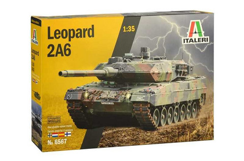 Leopard 2A6 (Upgraded Moulds) 1/35