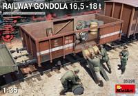 Railway Gondola 16,5-18t 1/35