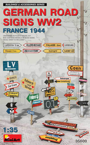 German Road Signs (France 1944) 1/35