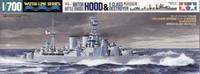 Hood & E Class Destroyer 1/700