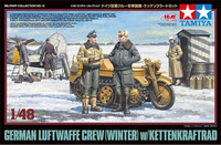 German Luftwaffe Crew (Winter) with Kleines Kettenkraftrad 1/48