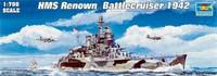 HMS Renow Battlecruiser 1942 1/700