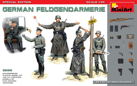 German Feldgenarmerie, Special Edition	1/35