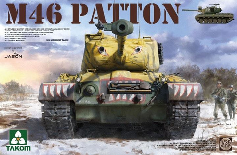 M-46 Patton US Medium Tank 1/35