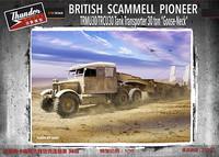 British Scammel Pioneer & TRMU30/TRCU30 Tank Transporter 30ton Late