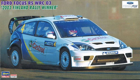 Ford Focus RS WRC 03 '2003 Rally Finland Winner 1/24