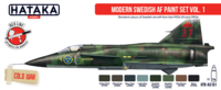 Modern Swedish Airforce Paint Set