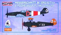 Messerschmitt Bf 109G-6/Trop & Focke-Wulf Fw 44J Steigel