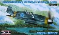 Messerschmitt Bf 109G-8/G-6 Jabo (Finnish Service)1/72