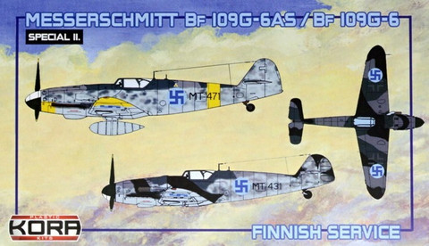 Messerschmitt Bf 109G-6 AS (Finnish Service) 1/72