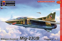 "MiG-23UB Flogger-C ""Warsaw Pact"" 1/72"