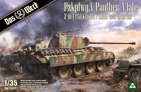 Panther Ausf.A Late (2 in 1)  1/35