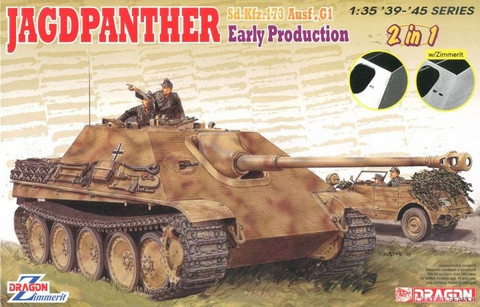 Jagdpanther Early Production (2 in 1)  1/35