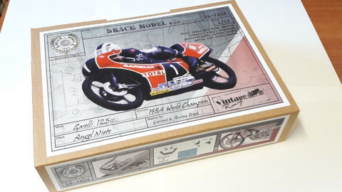 Garelli 125 cc. 1984 Angel Nieto (Full kit)  1/12