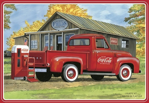 1953 Ford F-100 Pick Up with Wending Machine  1/25