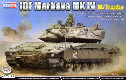 IDF Merkava Mk.IV with Trophy. 1/35