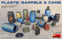 Plastic Barrels & Cans. 1/35