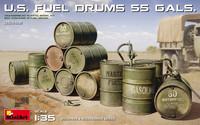U.S. Fuel Drums (55 Gal.)  1/35