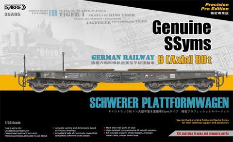SSyms Schwerer Plattformwagen (Precision Pro Edition)1/35