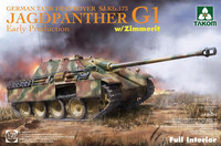 Jagdpanther G1 Early with Zimmerit & Full Interior  1/35