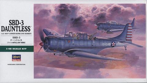 SBD-3 Douglas Dauntless  1/48