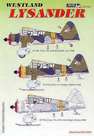 Westland Lysander Decals Finnish Air Force  1/72