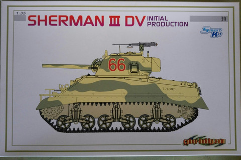 Sherman Mk.III DV Initial Production  1/35