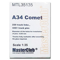 Metal Tracks for A34 Comet  1/35