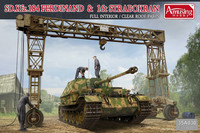 Panzerjäger Ferdinand + 16t Strabokran 1/35