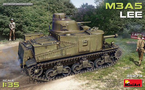 M3A5 Lee US Medium Tank  1/35