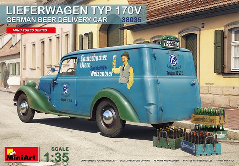 Lieferwagen Typ 170V German Beer Delivery Car  1/35