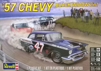 1957 Chevy Black Widow ( 2 in 1)  1/25