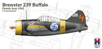 Brewster 239 Buffalo, Finnish Aces  1/72