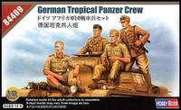 German Afrika Korps Panzer Crew  1/35