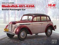 Moskvitch 401-402A Soviet Passenger Car  1/35