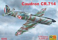 Caudron CR.714 (Myös Suomen ilmavoimien merkinnät)   1/72