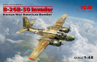 B-26B-50 Invader, Korean war American Bomber  1/48