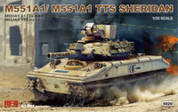 M551A1/A1TTS Sheridan  1/35