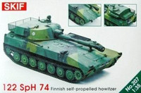 122 SpH 74Finnish Self-Propelled Howitzer  1/35