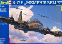 "Boeing B-17F Flying Fortress ""Memphis Belle""  1/48"