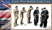 British Tank Crew (Early War)  1/35