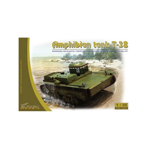 T-38 Soviet Amphibious Light Tank  1/35