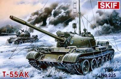 Soviet MBT T-55AK  1/35