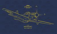 Mustang P-51D Royal Class (Dual Combo)  1/48