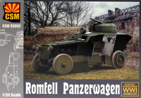 Romfell Panzerwagen, Austro-Hungarian WWI Armored Car 1/35