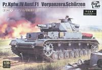 PzKpfw IV Ausf.F1 mit Zusatzpanzerung  1/35