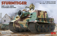 Sturmtiger with Workable tracks  1/35