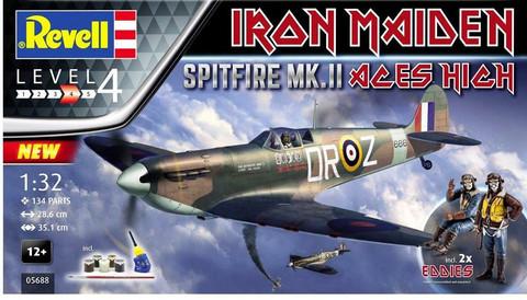 "Spitfire Mk.II ""Aces High "" Iron Maiden""  1/32"