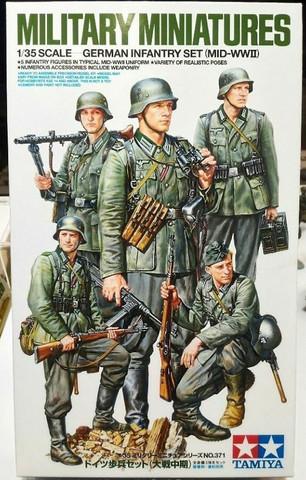 German Infantry Set (mid WWII)  1/35
