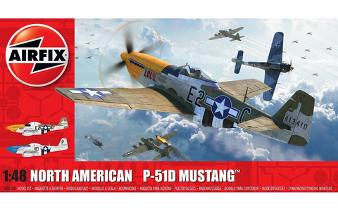North-American P51D Mustang (Filletless Tails). 1/48
